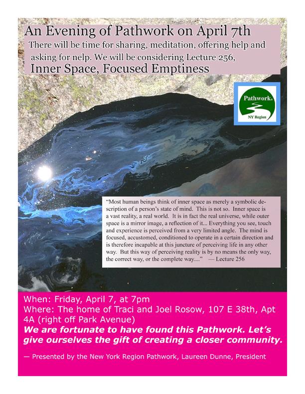 Pathwork Fellowship April 7